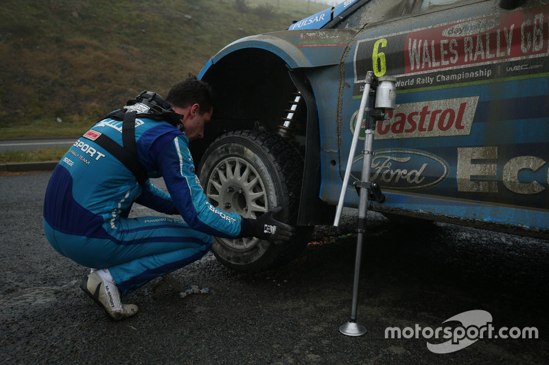 Eric Camilli, Benjamin Veillas Ford Fiesta RS WRC, M-Sport World Rally Team