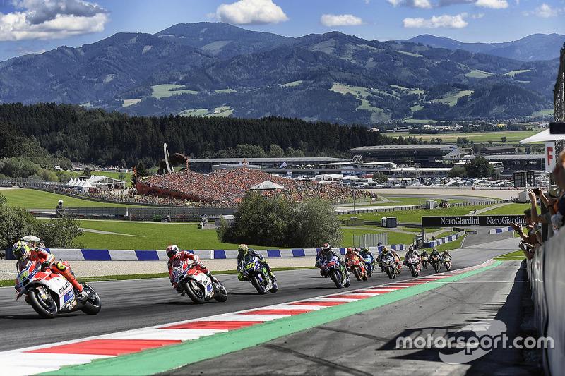 Andrea Iannone, Ducati Team, Andrea Dovizioso, Ducati Team, Valentino Rossi, Yamaha Factory Racing