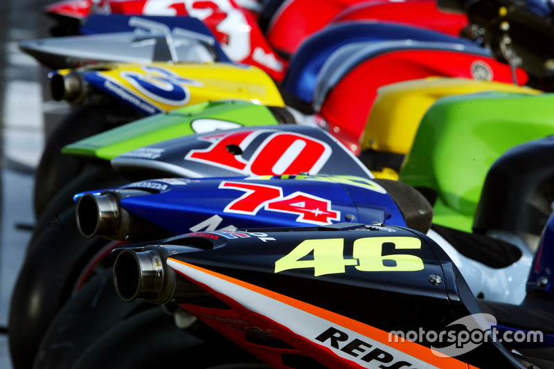 Die Motorräder der MotoGP-Saison 2003