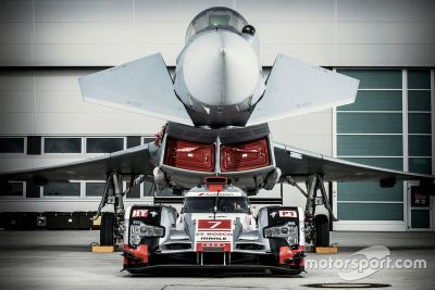 Audi R18 contro Eurofighter Typhoon