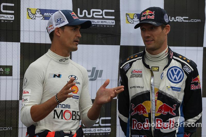 Daniel Sordo, Hyundai Motorsport, Sébastien Ogier, Volkswagen Motorsport