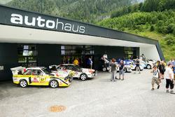 Präsentation der Rallye-Fahrzeuge