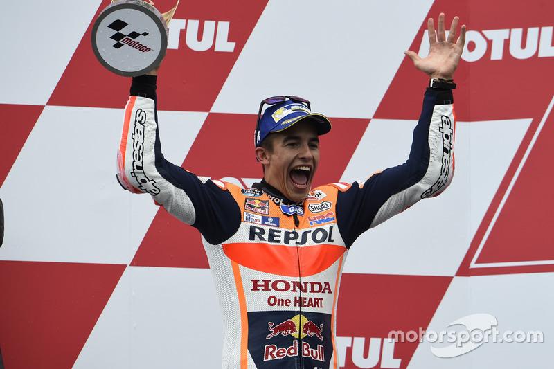 Podyum: Marc Marquez, Repsol Honda Team