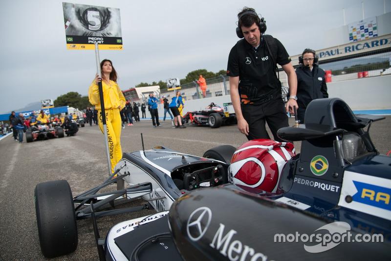 Pedro Piquet, Van Amersfoort Racing Dallara F312 – Mercedes-Benz, Chica de la parrilla