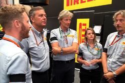 Персонал Pirelli у Спа-Франкоршам