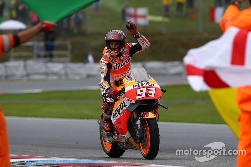 Il terzo classificato Marc Marquez, Repsol Honda Team