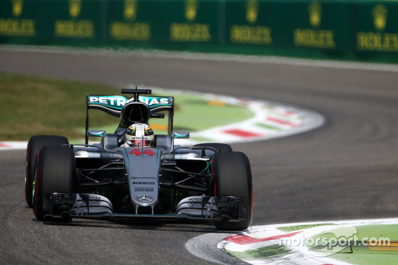 Italien, Monza: Lewis Hamilton (Mercedes)