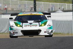 #2 Cars Tokai Dream28 Lotus Evora: Kazuho Takahashi, Hiroki Katoh, Tadasuke Makino