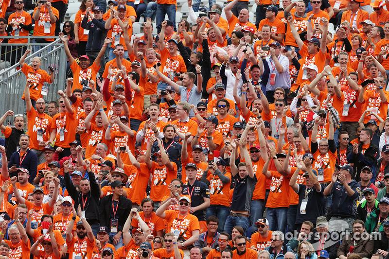 Fans de Max Verstappen