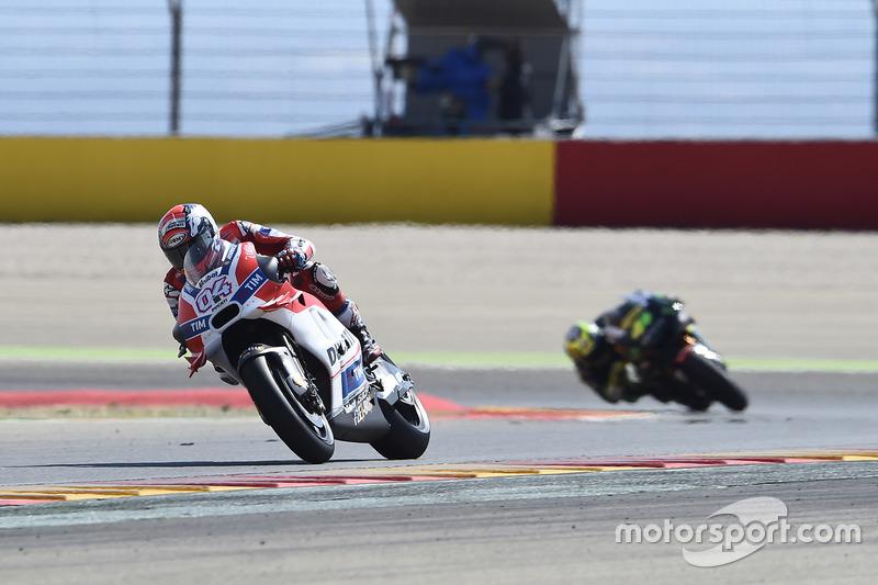 Les Ducati sombrent en dehors du top 10