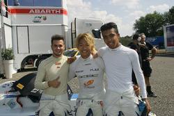 Simone Cunati, Vincenzo Sospiri Racing, Marino Sato, Vincenzo Sospiri Racing, e Jaden Conwright, Vincenzo Sospiri Racing
