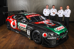 Tony Longhurst, Steve Richards, Mark Skaife and Russell Ingall with the BMW M6 GT3
