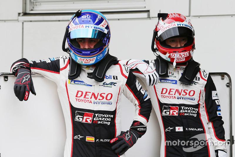 Fernando Alonso, Kazuki Nakajima, Toyota Gazoo Racing