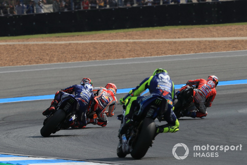 Андреа Довіціозо, Ducati Team, Марк Маркес, Repsol Honda Team, Маверік Віньялес, Валентино Россі, Yamaha Factory Racing