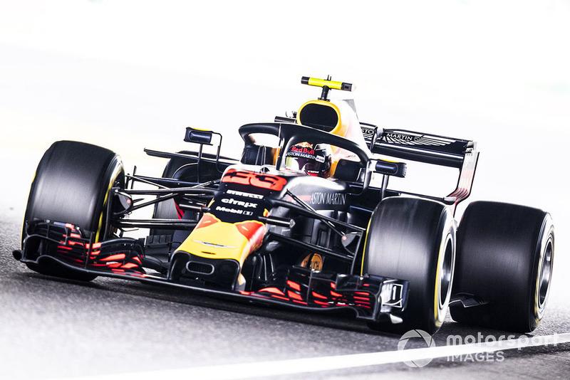 3: Max Verstappen, Red Bull Racing RB14, 1:29.057