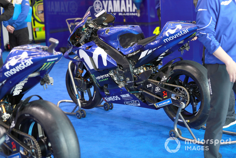 Maverick Viñales, Yamaha Factory Racing, bike