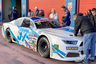 Тесты Вильнева в европейской серии NASCAR