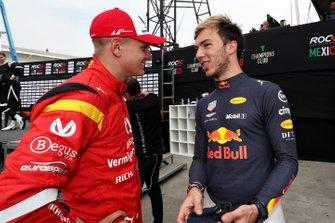 Mick Schumacher et Pierre Gasly