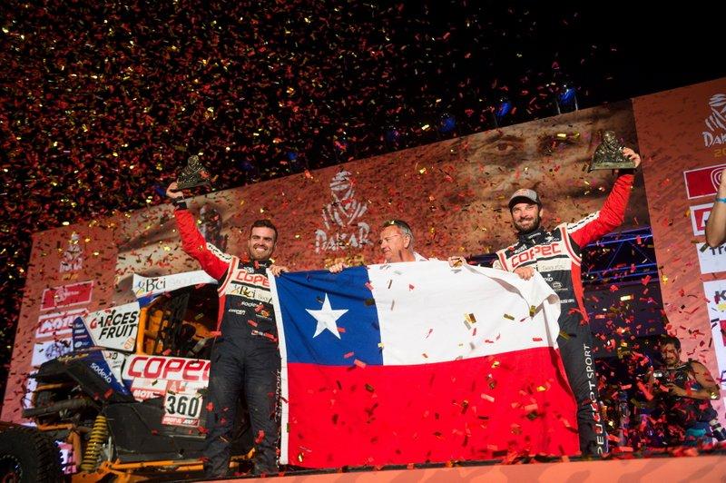 Podio: #360 Can-Am: Francisco Lopez Contardo, Alvaro Juan Leon Quintanilla