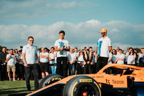 McLaren Woking celebrations