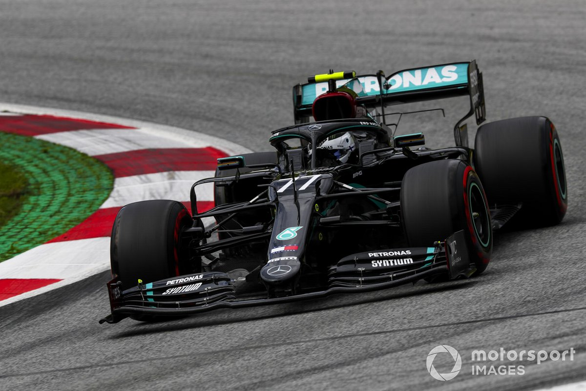 P1 Valtteri Bottas, Mercedes F1 W11 EQ Performance