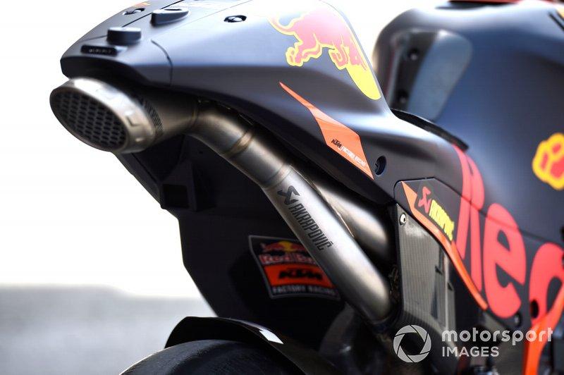 Auspuff: KTM RC16