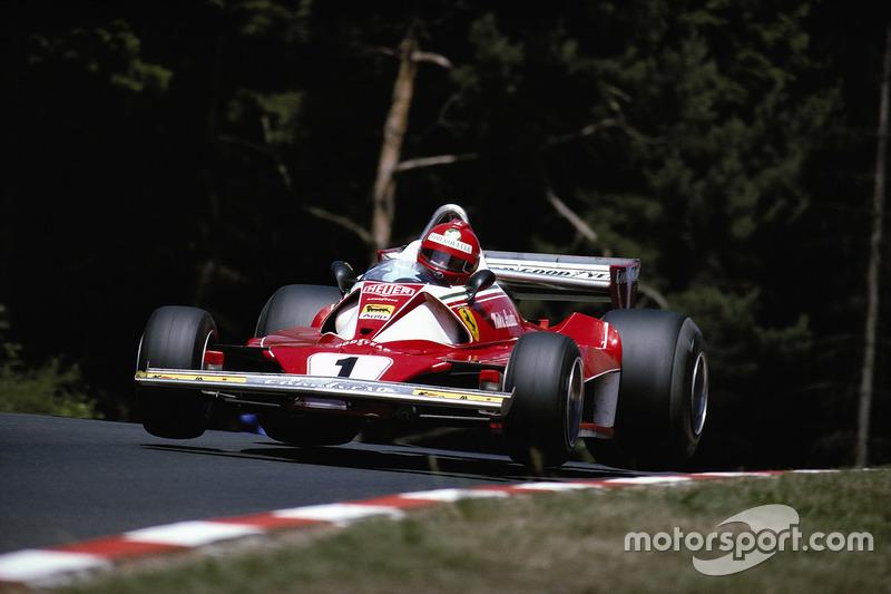 Niki Lauda, Ferrari 312T2,