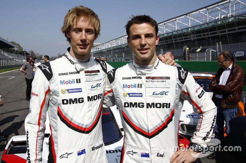 Brendon Hartley, Earl Bamber, Porsche Team