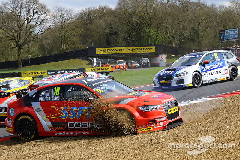 Unfall: Ant Whorton-Eales, AmDtuning.com with Cobra Exhausts, Audi S3
