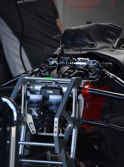 Haas F1 Team front detail