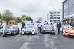 Bruno Spengler, BMW Team RBM, BMW M4 DTM, Tom Blomqvist, BMW Team RBM, BMW M4 DTM, Marco Wittmann, BMW Team RMG, BMW M4 DTM, Augusto Farfus, BMW Team RMG, BMW M4 DTM