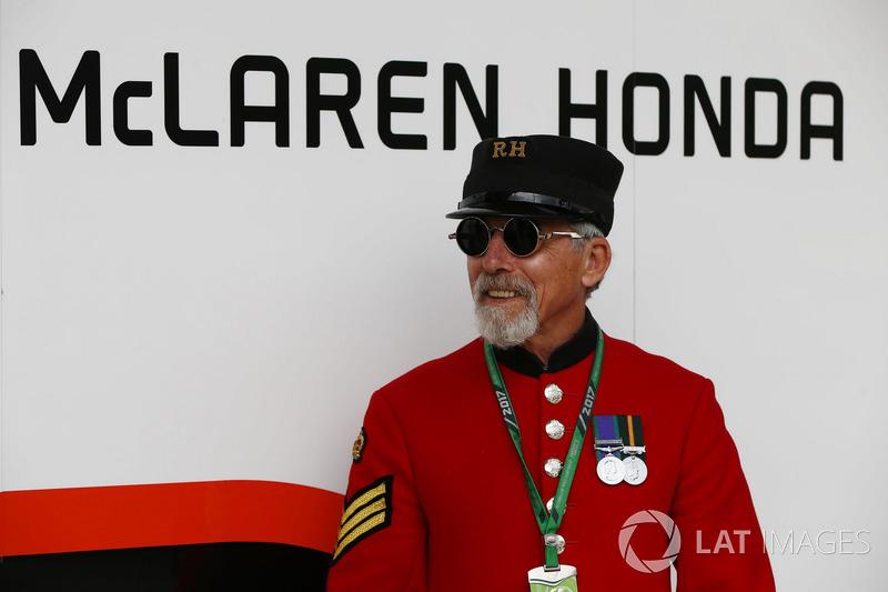 Gast bei McLaren