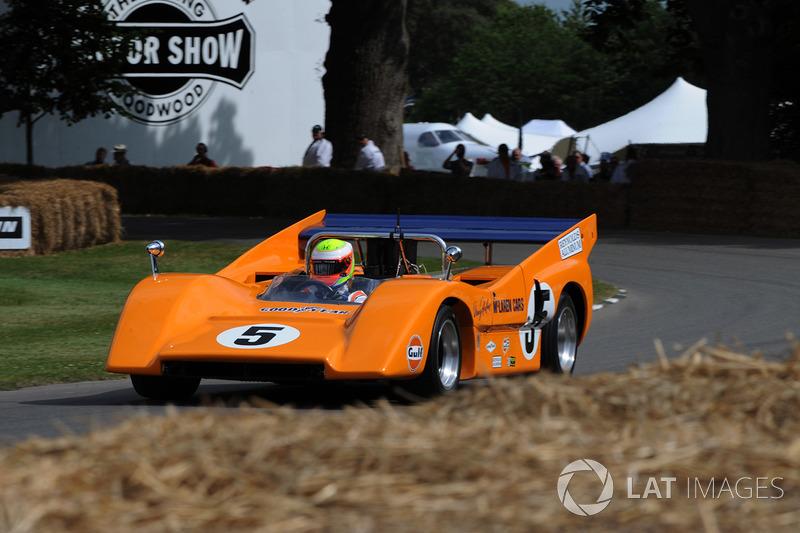 Оливер Тёрви, McLaren M8F
