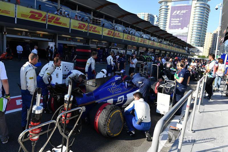 El coche de Marcus Ericsson, Sauber C36