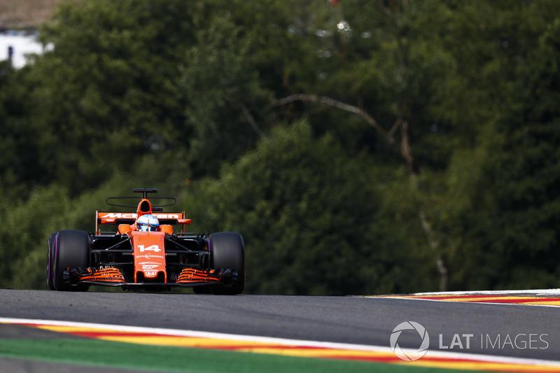 Ausfall: Fernando Alonso, McLaren MCL32