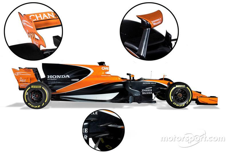McLaren MCL32 details