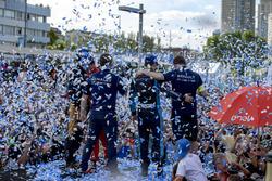 Podium: ganador, Sébastien Buemi, Renault e.Dams