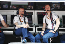 Paddy Lowe, Williams Formula 1, Rob Smedley, Head of Vehicle Performance, Williams