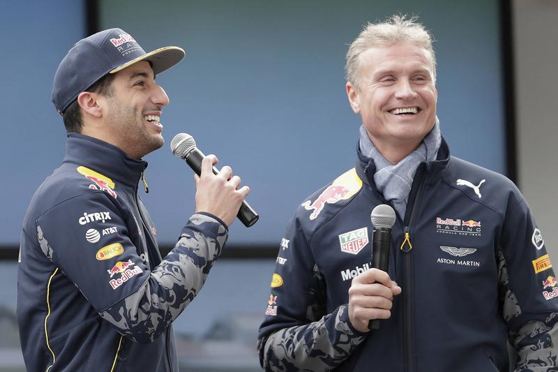 Daniel Ricciardo y David Coulthard, Red Bull Racing