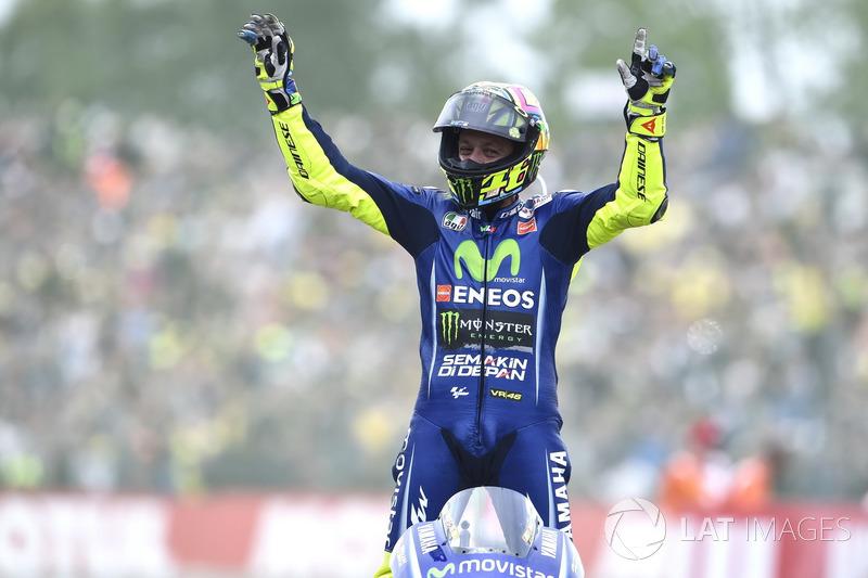 Winnaar Valentino Rossi, Yamaha Factory Racing