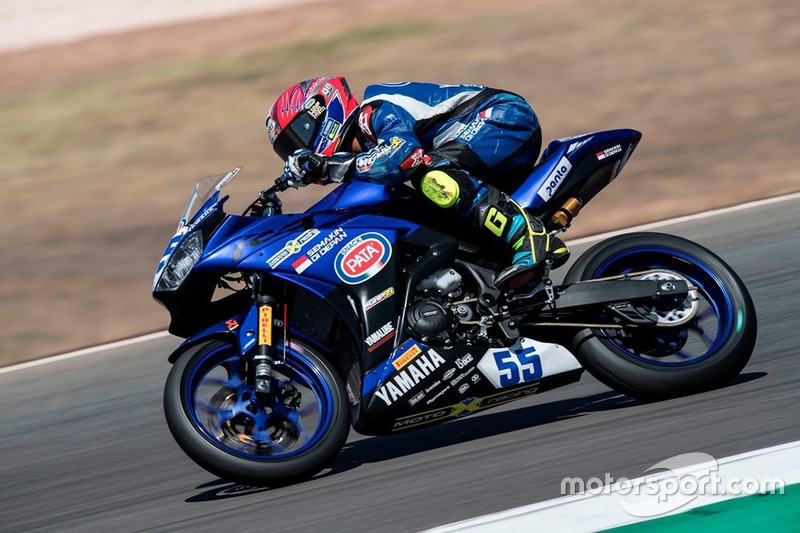 WorldSSP300: Galang Hendra, Team MotoXracing