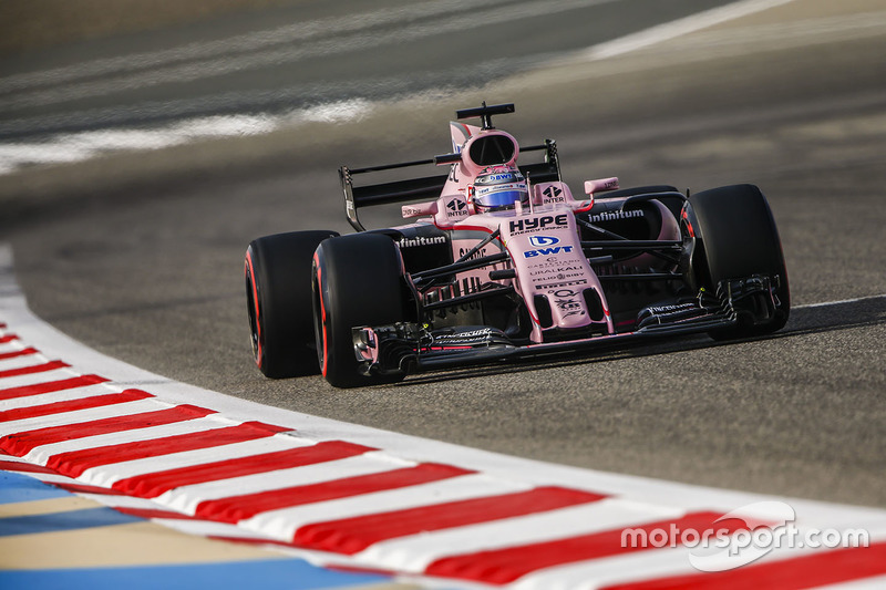 Sergio Perez, Force India VJM10