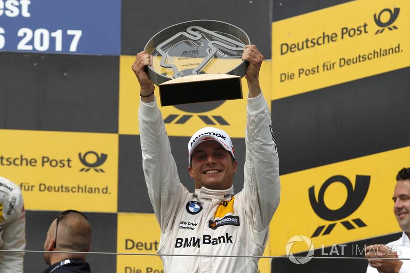 Podium: 3. Bruno Spengler, BMW Team RBM, BMW M4 DTM
