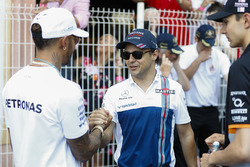 Lewis Hamilton, Mercedes AMG F1, Felipe Massa, Williams