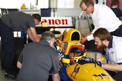 Karun Chandhok, Williams FW14B Renault, Dickie Stanford
