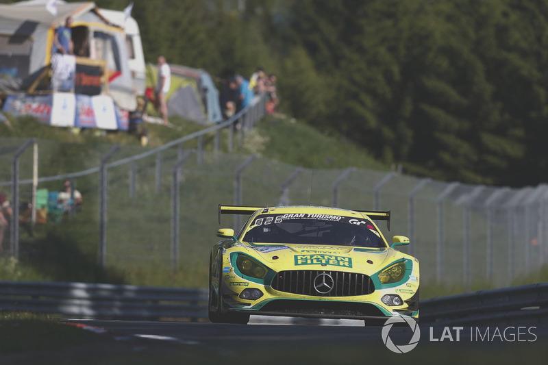 15. #48 Mann-Filter Team HTP Motorsport, Mercedes-AMG GT3