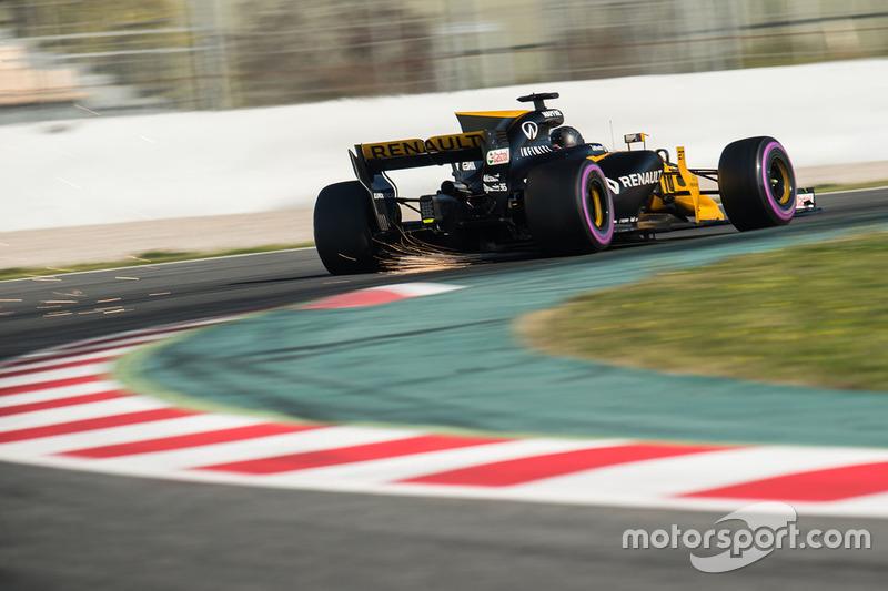 Viernes:  Nico Hulkenberg, Renault Sport F1 Team RS17