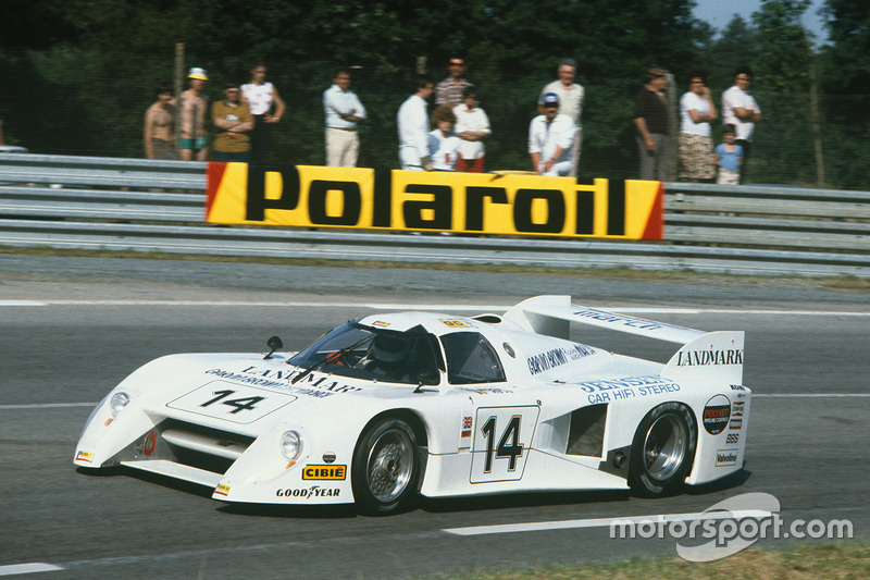 1. El March 82G Chevrolet de IMSA GTP