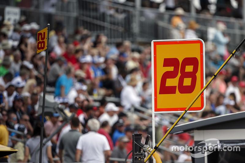 Ryan Hunter-Reay, Andretti Autosport Honda señal