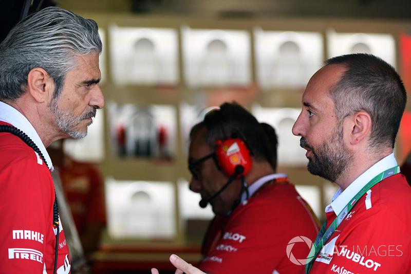 Maurizio Arrivabene, director de Ferrari Team